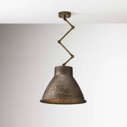 Lampe suspendue de style industrielle Loft Moyenne Il Fanale