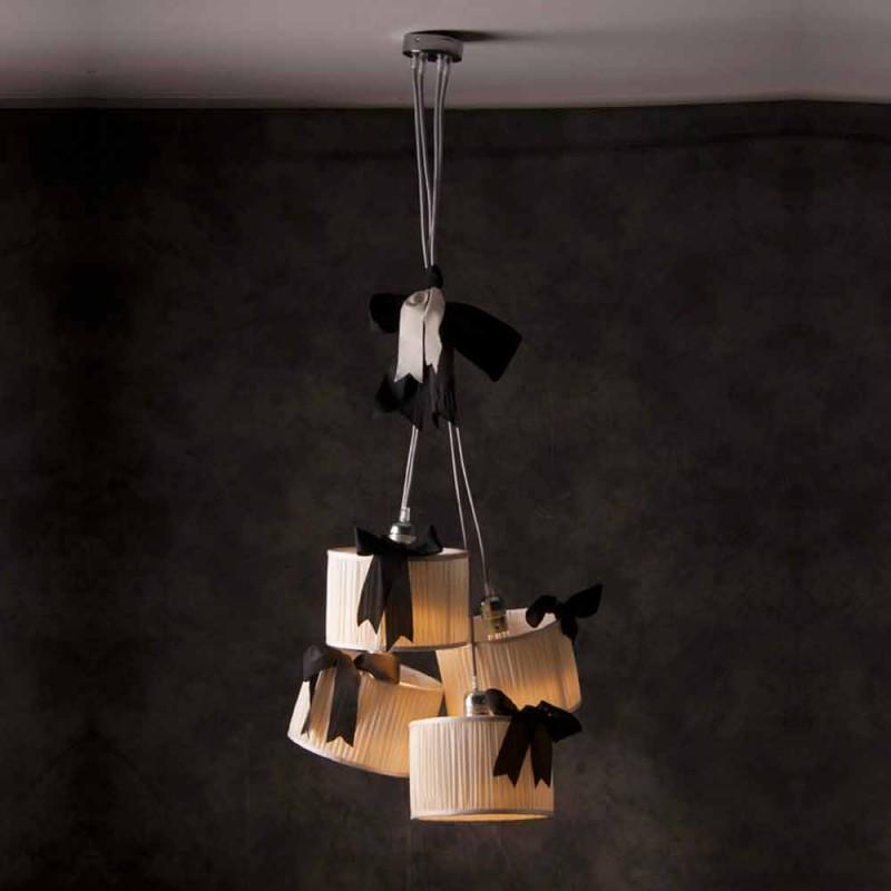 Lampe suspension vintage 4 lumières Chanel