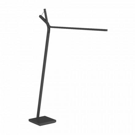 Lampadaire LED extérieur en acier blanc ou graphite - Cleo Alu par Talenti