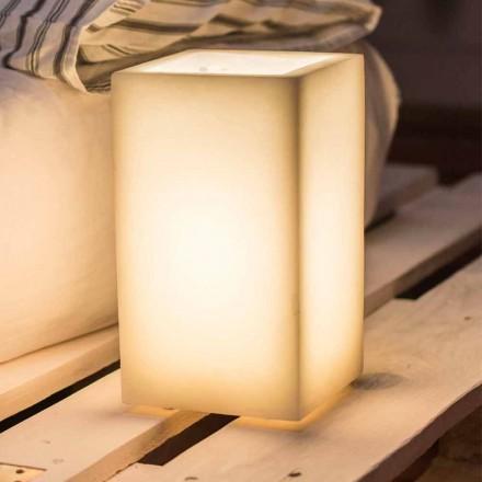 Lampe Abat-jour en cire parfumée de différentes couleurs Made in Italy - Dalila