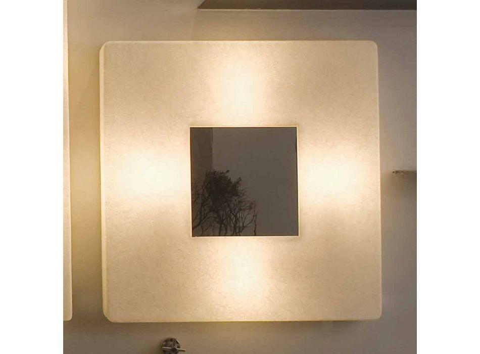 Applique design avec miroir In-es.artdesign Ego in nebulite
