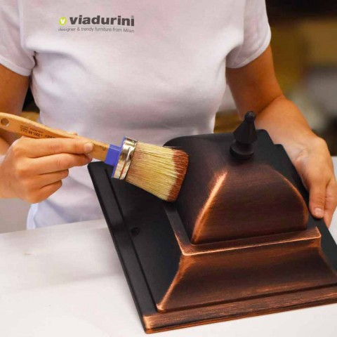 Applique d'extérieur en aluminium moulé sous pression fabriquée en Italie, Anusca