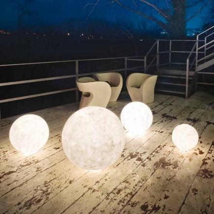 Lampadaire d'extérieur In-es.artdesign Ex.Moon in nebulite
