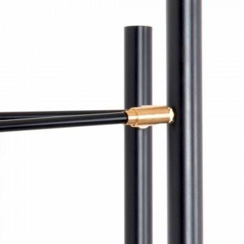 Applique artisanale en fer, aluminium et laiton Made in Italy - Clia