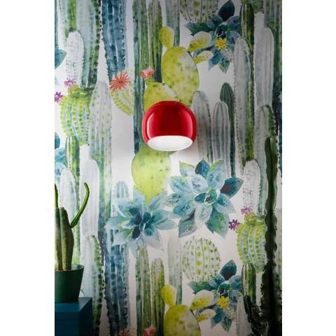 Applique Murale en Céramique Design Vintage Made in Italy - Ferroluce Ayrton