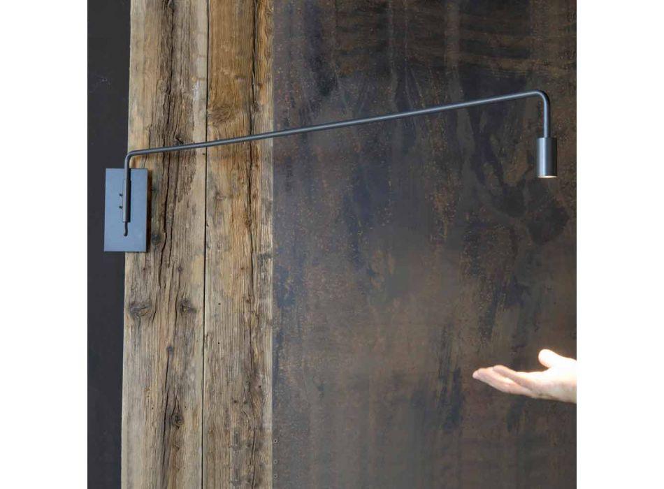 Applique murale avec structure en fer fabriquée en Italie - Solana