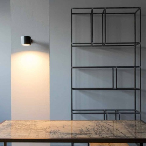 Applique en fer et aluminium artisanal Made in Italy - Trema
