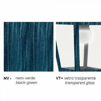 Applique d'extérieur en aluminium fabriqué en Italie, Kristel