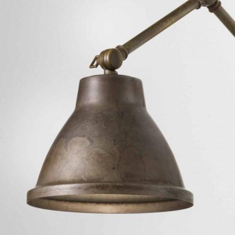 lampe murale réglable en fer Loft Il Fanale