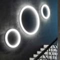 Applique murale LED ronde moderne Made in Italy en polyéthylène - Slide Giotto
