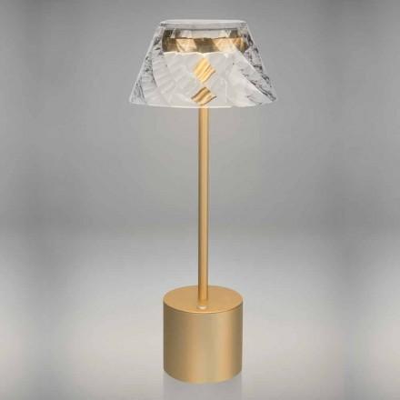 Lampe de table LED Design Touch en métal et acrylique - Tagalong