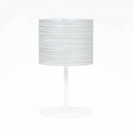 Lampe de bureau avec décoration design moderne, diamètre 30cm, Debby