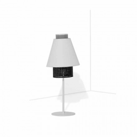 Lampe de table avec structure en métal Design moderne Made in Italy - Sailor