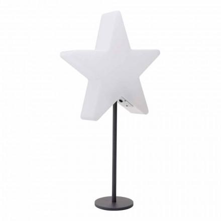 Lampe de table design moderne, étoile avec ou sans piédestal - Littlestar