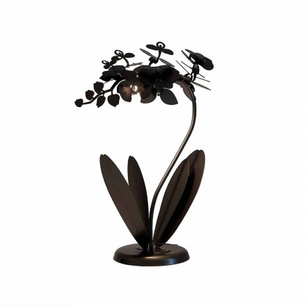 Lampe de table en fer au design moderne Made in Italy - Amorpha