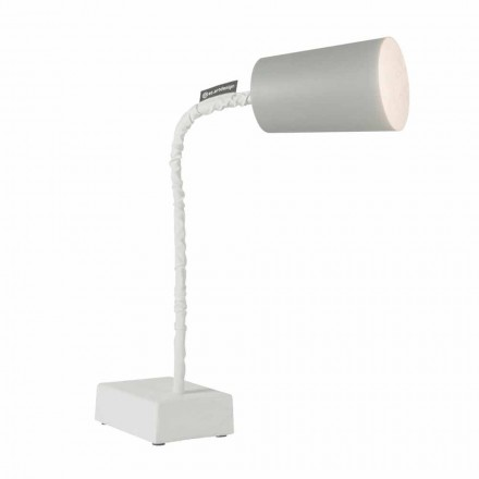 Lampe de table In-es.artdesign Paint T2 tige de ciment flexible
