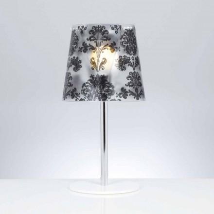Lampe de bureau en polycarbonate avec décorations, diamètre 30cm Mara