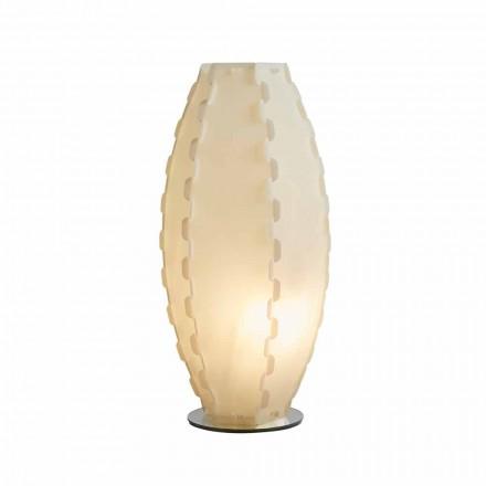 Lampe de bureau sandylex pearl produit en Italie, Gisele diam. 27Cm