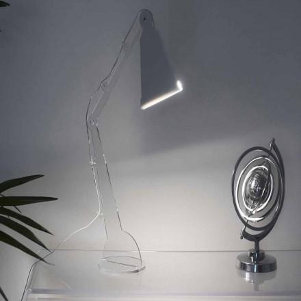 Tecno-style table / lampe de lecture avec lumière LED, Flero