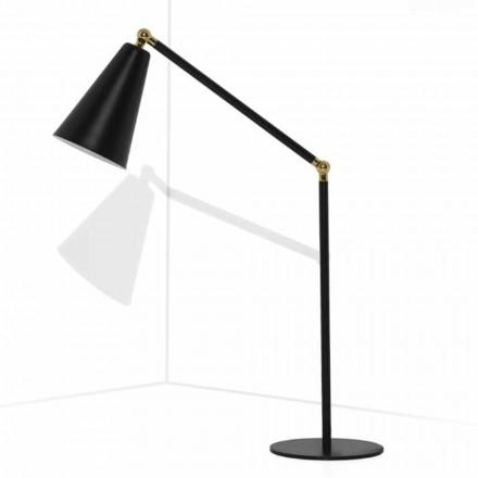 Lampe de table moderne avec structure métallique fabriquée en Italie - Zaira