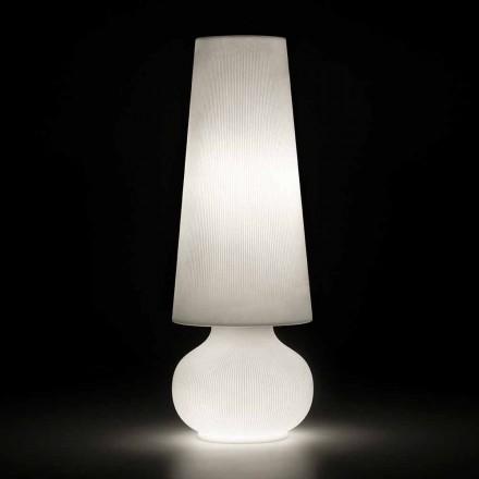 Lampadaire d'extérieur avec structure en polyéthylène Made in Italy - Desmond