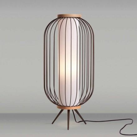 Lampe de sol de design moderne en acier diamètre 37xH80 cmFanny