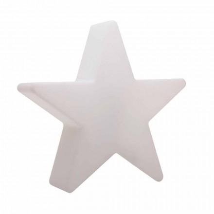Lampadaire en forme d'étoile blanche ou rouge, design moderne - Ringostar