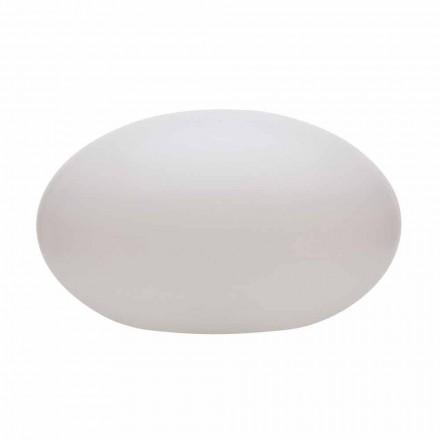 Lampadaire LED, Solaire ou E27 de Design Ovale Moderne Coloré - Uovostar