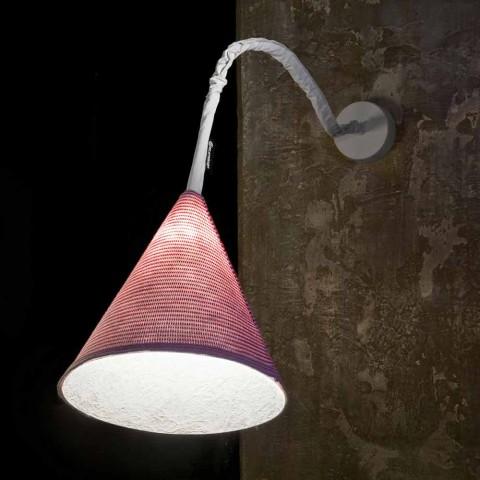 Applique design In-es.artdesign Jazz A Stripe en laine colorée