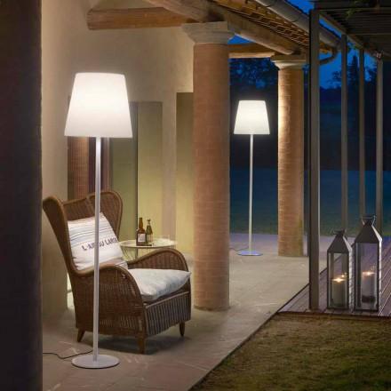 Lampe de table design en métal Slide Ali Baba Steel, fabriquée en Italie