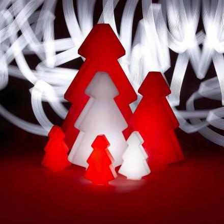 Lampe décorative d'extérieur pour arbre de Noël Slide Lightree, fabriquée en Italie