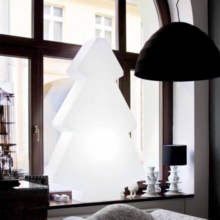 Lampe pour arbre de Noël pour table / sol intérieur Slide Lightree, fabriqué en Italie