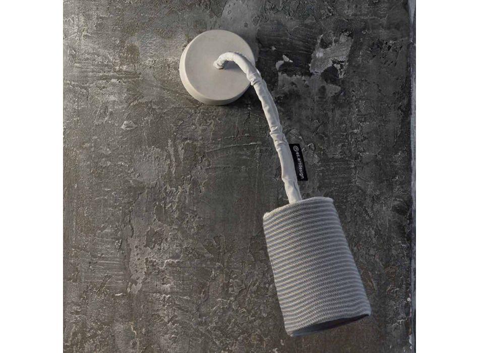 Applique moderne In-es.artdesign Paint A Stripe nébulite et laine