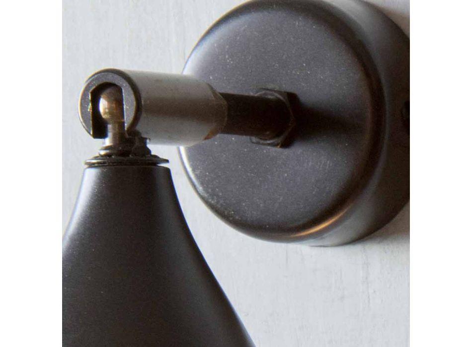Applique Artisanale Moderne en Fer et Aluminium Made in Italy - Conique