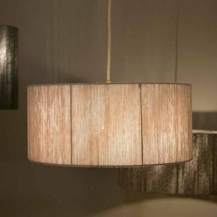 Lampe à suspension moderne en laine fabriquée en Italie Evita