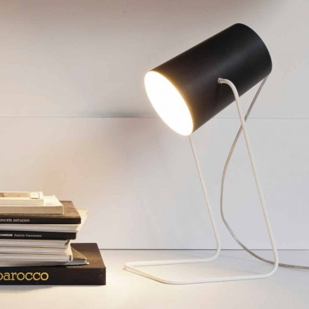 Lampe de table moderne In-es.artdesign effet tableau noir Paint T