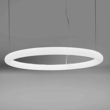 Suspension LED ronde en polyéthylène Made in Italy - Slide Giotto