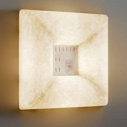 Applique blanche nébulite In-es.artdesign Dada Luna 1 design