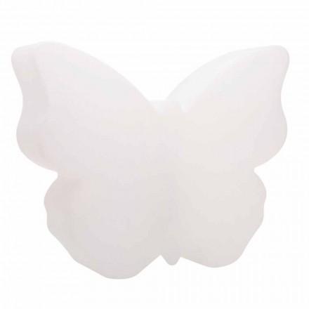 Lampe de table ou de sol pour intérieur ou extérieur, papillon blanc - Farfallastar