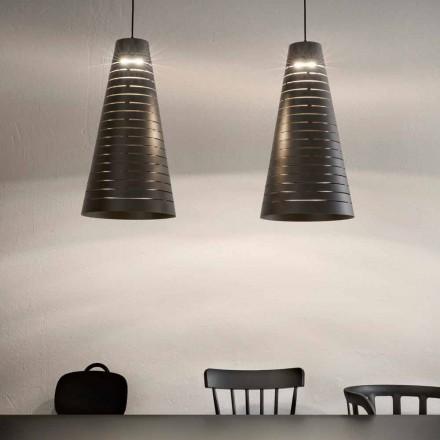 Lampe Suspendue de Design en Acier Made in Italy – Cervin Aldo Bernardi