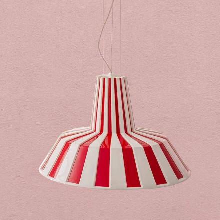 Lampe Suspendue Design Moderne en Céramique – Budin Aldo Bernardi