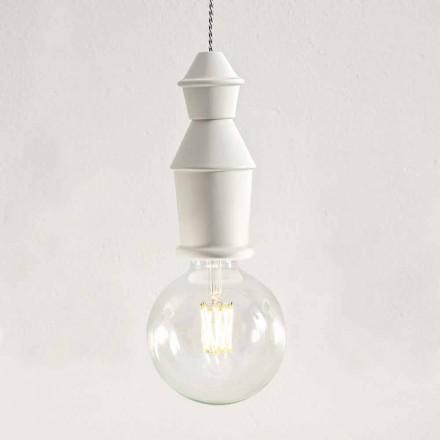 Lampe Suspendue Shabby Chic en Céramique - Fate by Aldo Bernardi
