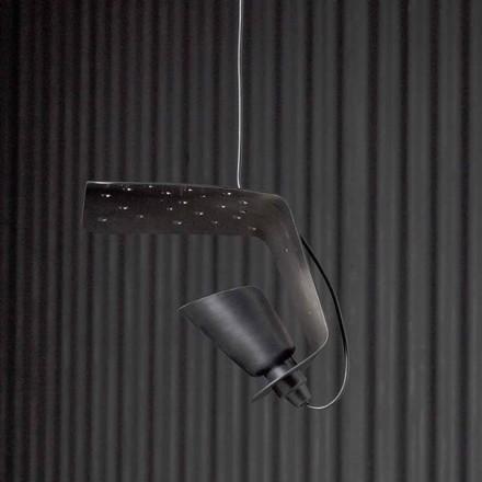 Lampe à suspension design en métal et aluminium Tractor - Toscot