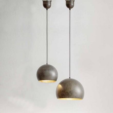 Lampe Suspendue en Acier Diamètre 300 ou 400 mm – Matière Aldo Bernardi