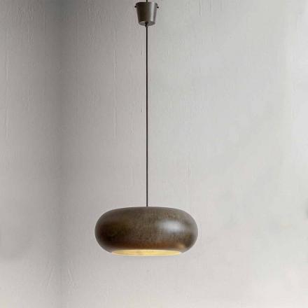 Lampe Suspendue en Acier Diamètre 500 mm – Matière Aldo Bernardi