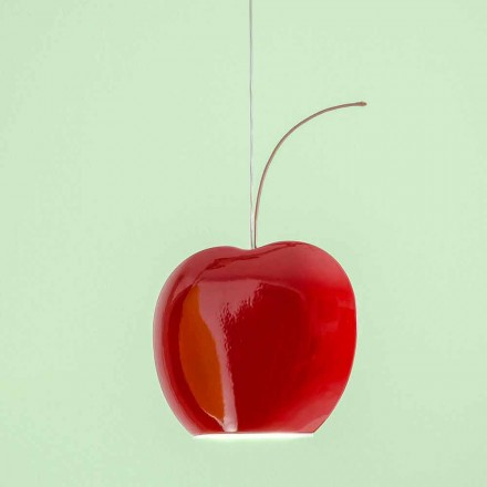 Lampe Suspendue en Céramique à Forme de Cerise – Fruits Aldo Bernardi
