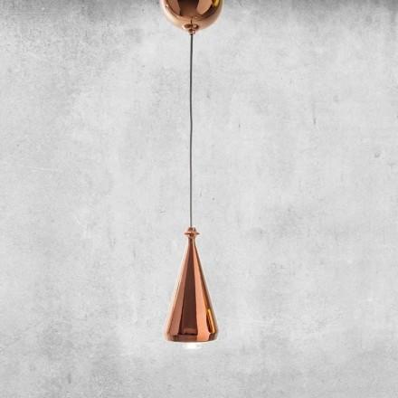 Lampe LED Suspendue en Céramique de Design – Lustrini L2 Aldo Bernardi