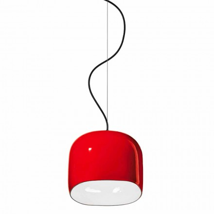 Lampe à Suspension de Style Moderne en Céramique Made in Italy - Ferroluce Ayrton