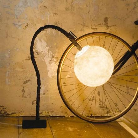Lampe sur pied flexible In-es.artdesign Micro Luna nébulite