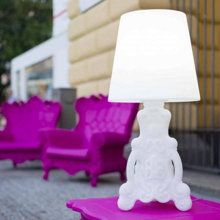 Lampe à poser lumineuse Slide Lady of Love, produite en Italie